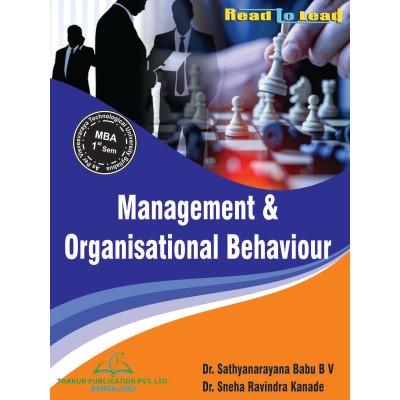 Management & Organisational...