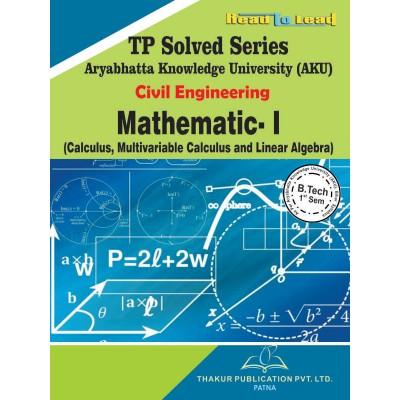 Mathematics- I  (Calculus,...