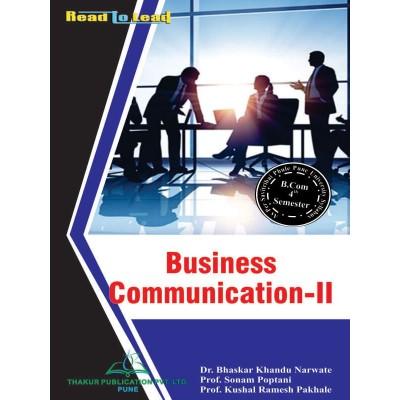 Business Communication- II