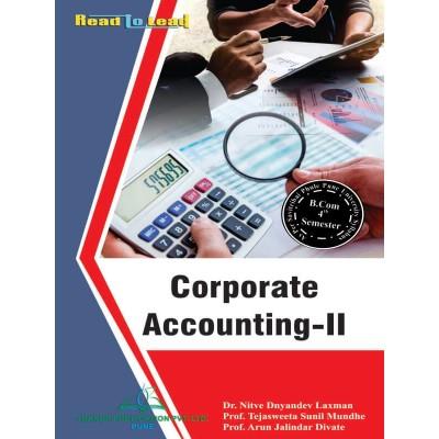 Corporate Accounting- II