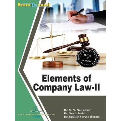 Elements Of Company Law-II