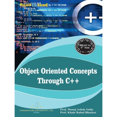 Object Oriented Concepts...