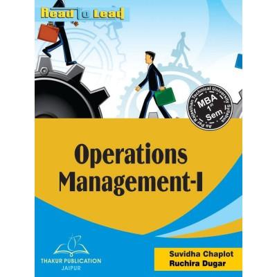 Operations Management- I