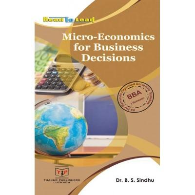 Micro-Economics for...