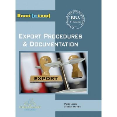Export Procedure and...