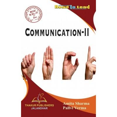 Communication-II