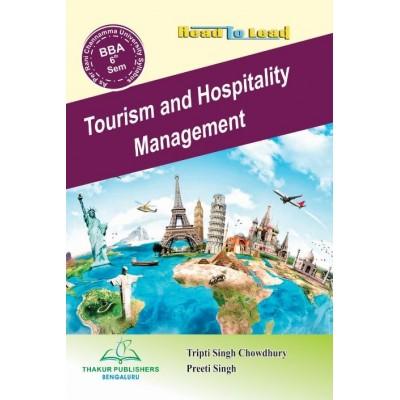 Tourism and Hospitality...