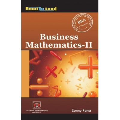 Business Mathematics-II
