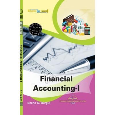 Financial Accounting- I
