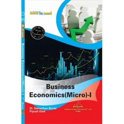 Business Economics (Micro) - I