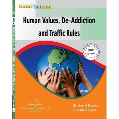 Human Values, De-Addicition...