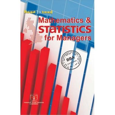 Mathematics and Statistics...