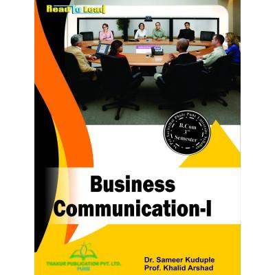 Business Communication- I