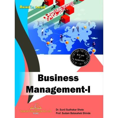 Business Management- I