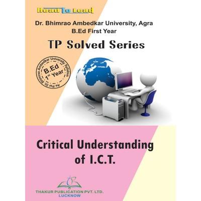 Critical Understanding Of...